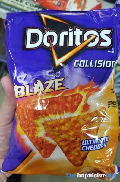 Doritos Collisions Blaze and Ultimate Cheddar