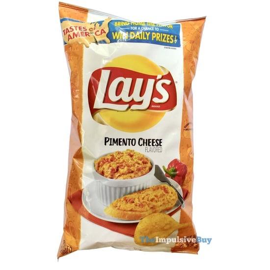 Lay s Pimento Cheese Potato Chips