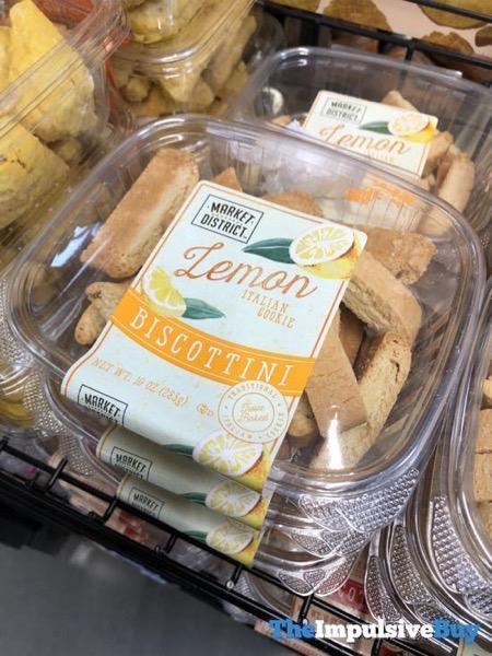 Market District Lemon Biscottini