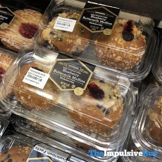Marketside Blueberry Buttermilk Muffins