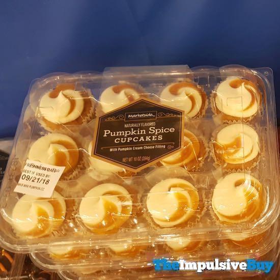 Marketside Pumpkin Spice Cupcakes