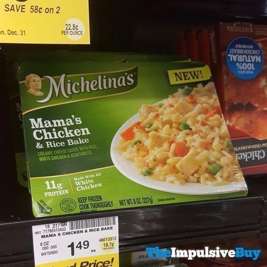 Michelina s Mama s Chicken  Rice Bake