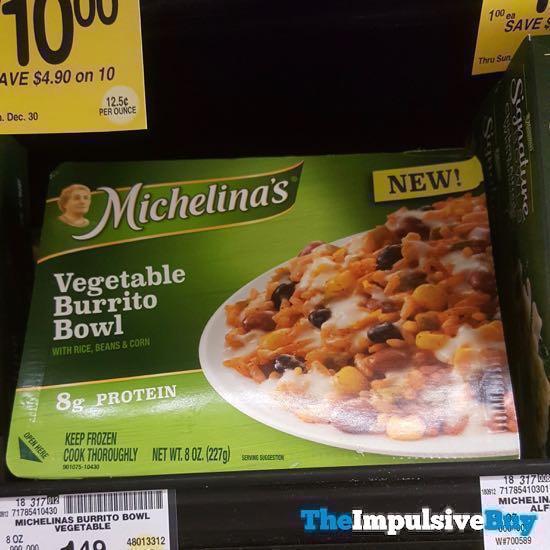 Michelina s Vegetable Burrito Bowl