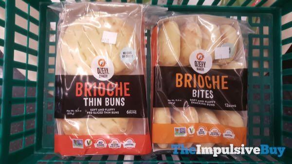 Ozery Bakery Brioche Thin Buns and Brioche Bites