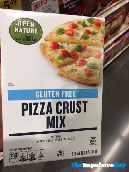 Safeway Open Nature Gluten Free Pizza Crust Mix