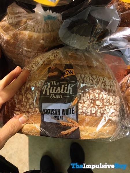 The Bustik Over Artisan White Bread