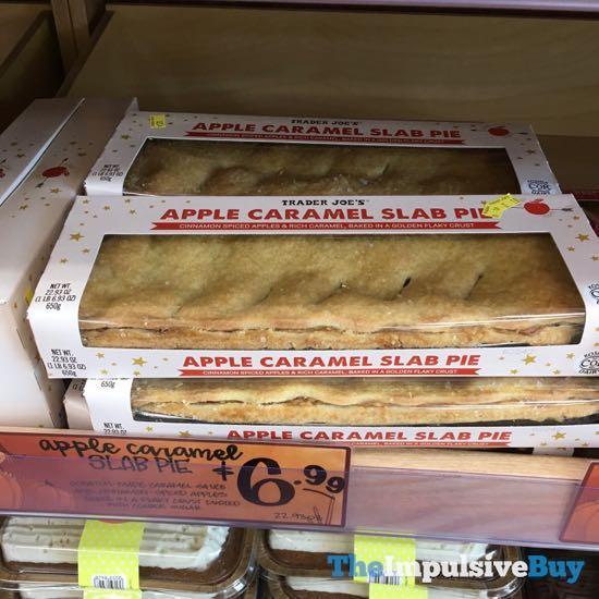 Trader Joe s Apple Caramel Slab Pie