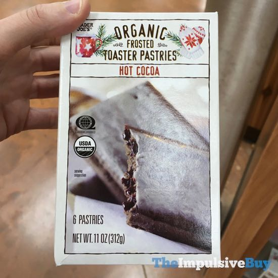 Trader Joe s Hot Cocoa Organic Frosted Toaster Pastries