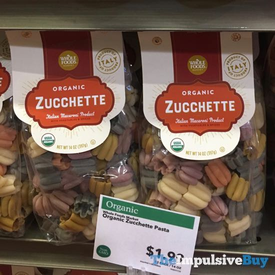 Whole Foods Organic Zucchette Pasta