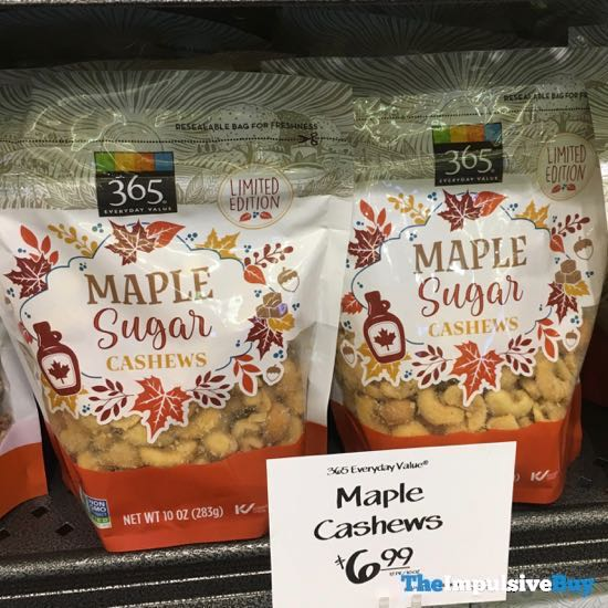 365 Everyday Value Limited Edition Maple Sugar Cashews