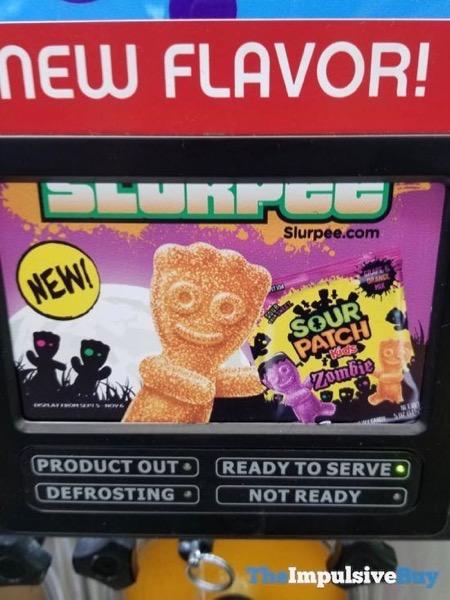 7 Eleven Sour Patch Kids Zombie Slurpee