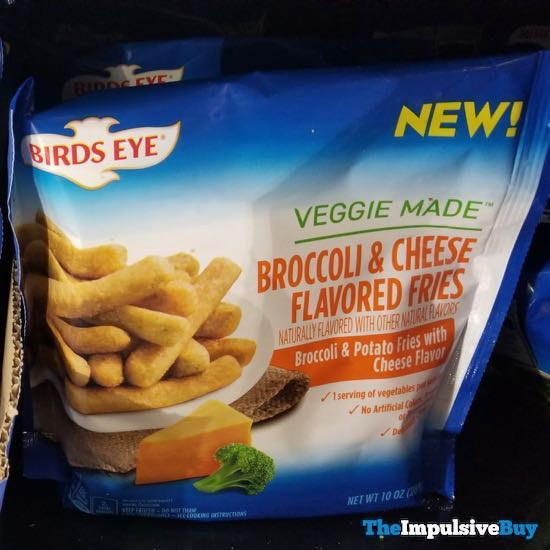 Birds Eye Veggie Made Broccoli  Cheese Flavored Fries