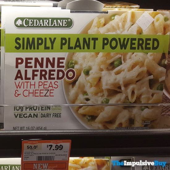 Cedar Lane Simply Plant Powered Penne Alfredo with Peas  Cheeze