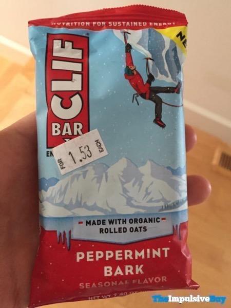 Clif Bar Seasonal Flavor Peppermint Bark