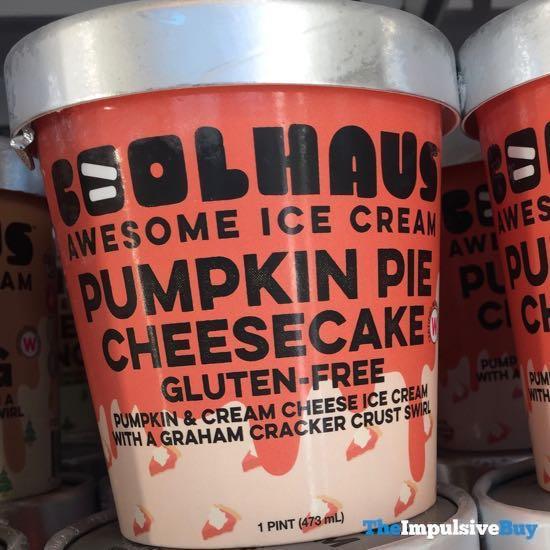 Coolhaus Pumpkin Pie Cheesecake Ice Cream