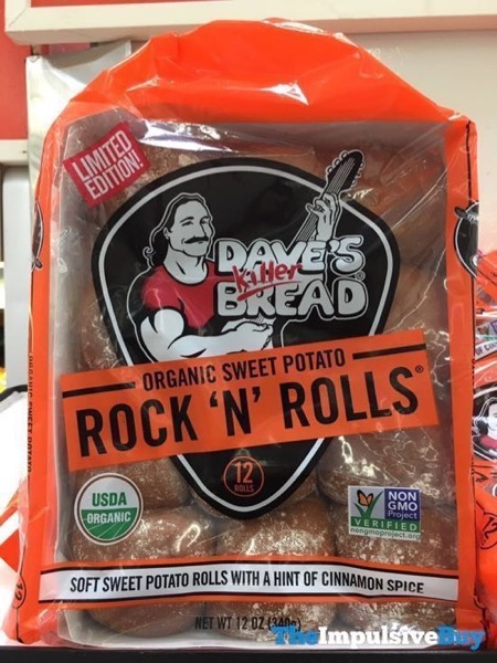 Dave s Killer Bread Limited Edition Organic Sweet Potato Rock  N Rolls