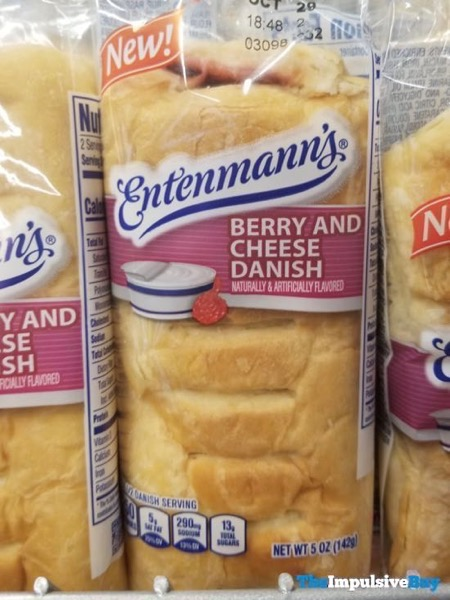 Entenmann s Berry and Cheese Danish