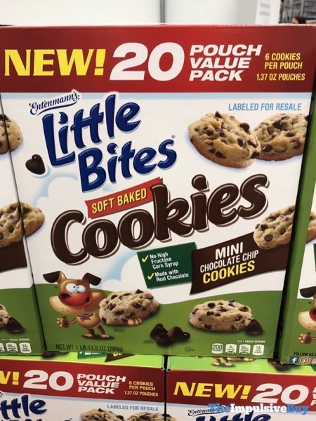 Entenmann s Little Bites Mini Chocolate Chip Soft Baked Cookies