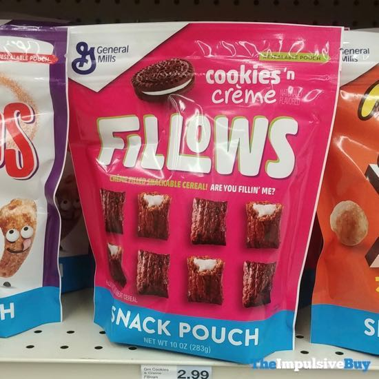 Fillows Cookies  n Creme Snack Pouch