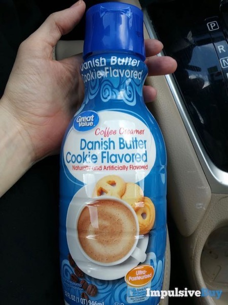 Great Value Danish Butter Cookie Flavored Coffee Creamer
