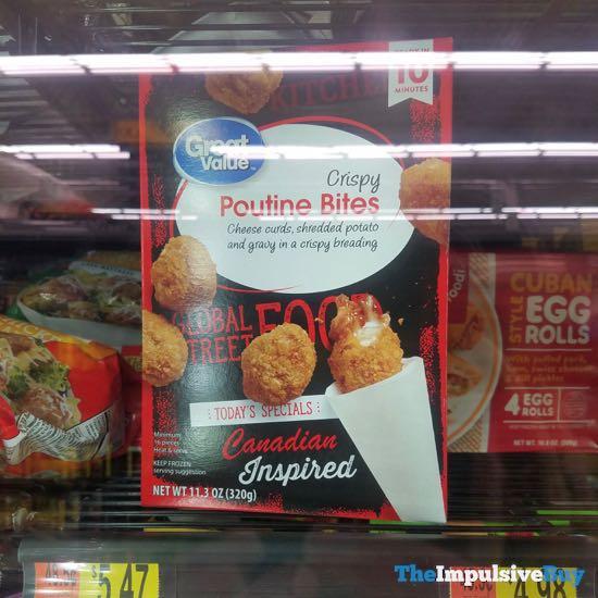 Great Value Global Street Food Crispy Poutine Bites