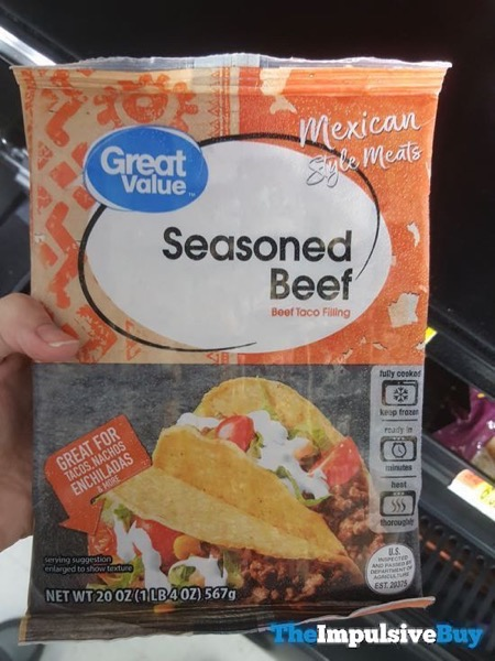 Great Value Mexican Style Meats Seasoned Beef