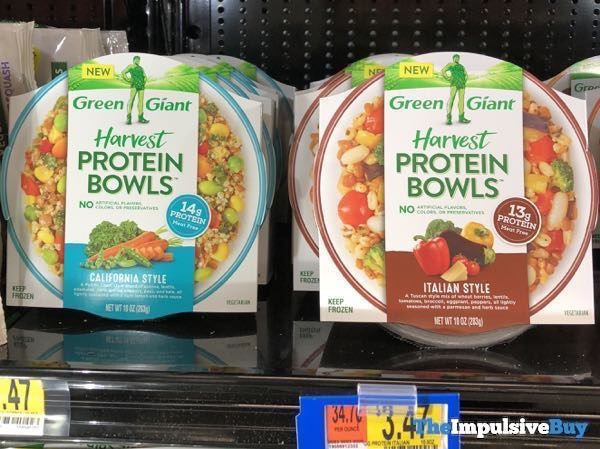 Green Giant California Style and Italian Style Harvest Protein Bowls