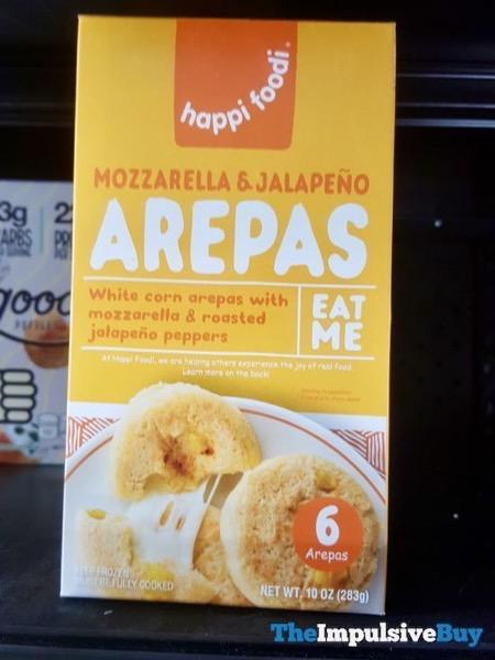 Happi Foodi Mozzarella  Jalapeno Arepas