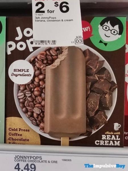 Jonny Pops Cold Press Coffee Chocolate  Cream