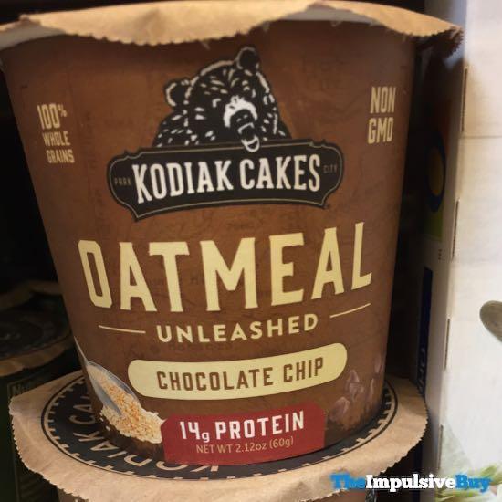 Kodiak Cakes Oatmeal Unleashed Chocolate Chip