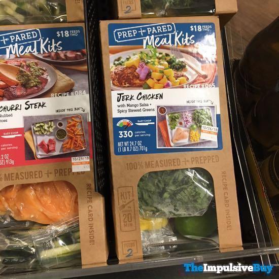 Kroger Prep + Pared Meals Kits Jerk Chicken
