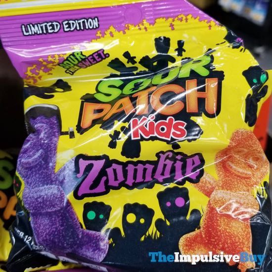 Limited Edition Sour Patch Kids Zombie