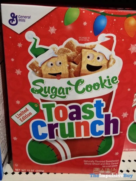 Limited Edition Sugar Cookie Toast Crunch Cereal  2018