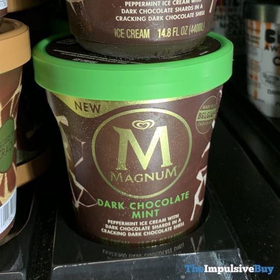 Magnum Dark Chocolate Mint Ice Cream Tub
