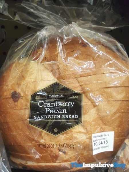 Marketside Cranberry Sandwich Bread