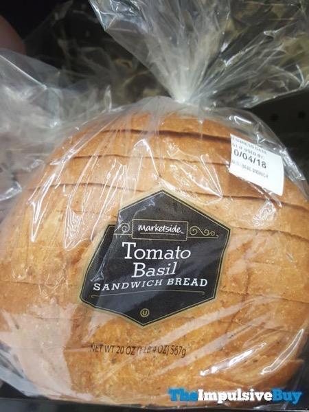 Marketside Tomato Basil Sandwich Bread