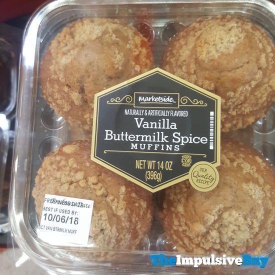 Marketside Vanilla Buttermilk Spice Muffins