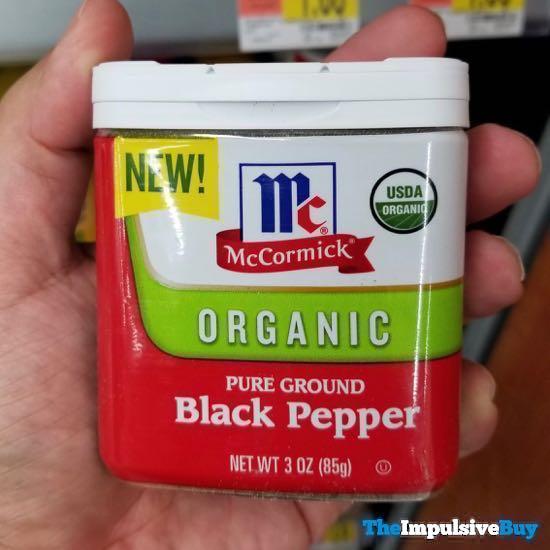 McCormick Organic Pure Ground Black Pepper