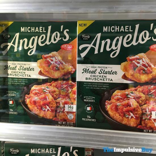 Michael Angelo s Meal Starter Bruschetta