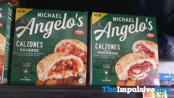 Michael Angelo s Sausage and Pepperoni Calzones