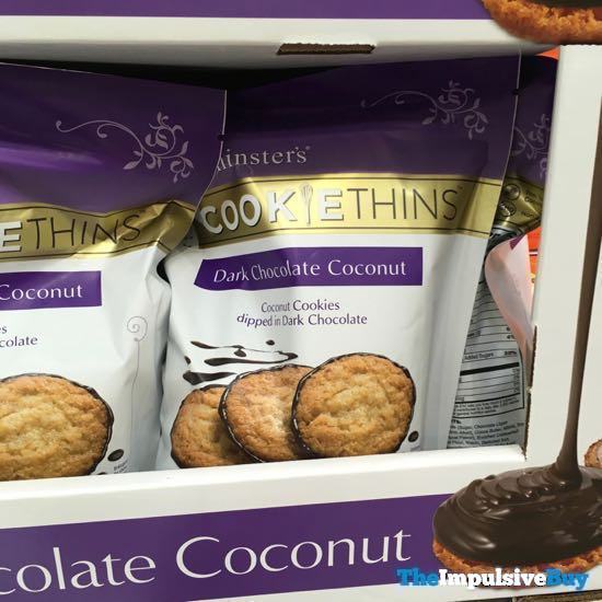 Mrs Thinster s Dark Chocolate Coconut Cookie