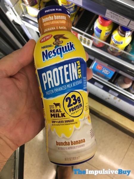 Nesquik Protein Plus Buncha Banana