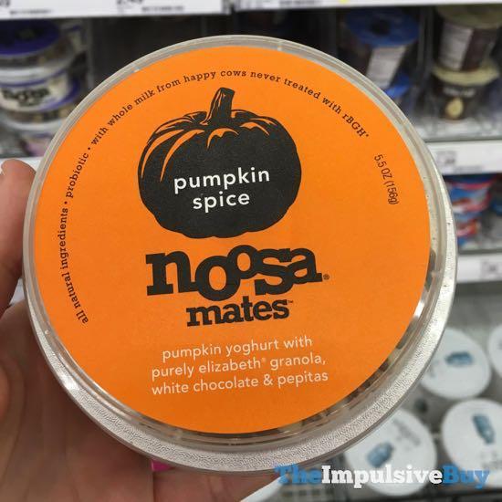 Noosa Mates Pumpkin Spice Yoghurt