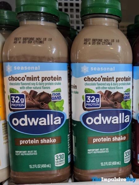 Odwalla Seasonal Choco mint Protein Protein Shake