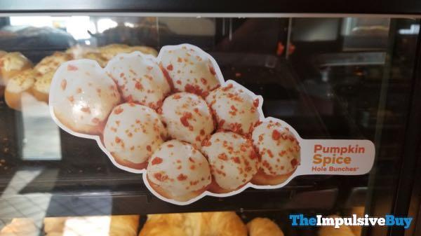 QuikTrip Pumpkin Spice Donut Hole Bunches