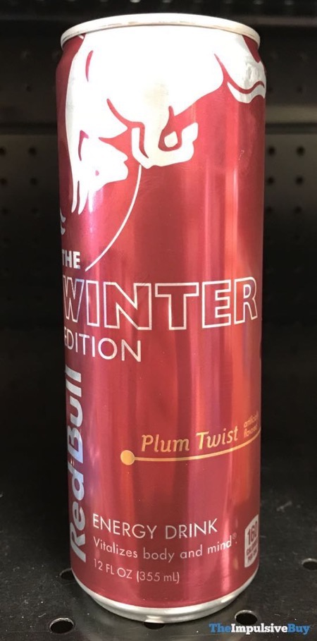 Red Bull The Winter Edition Plum Twist Energy Drink