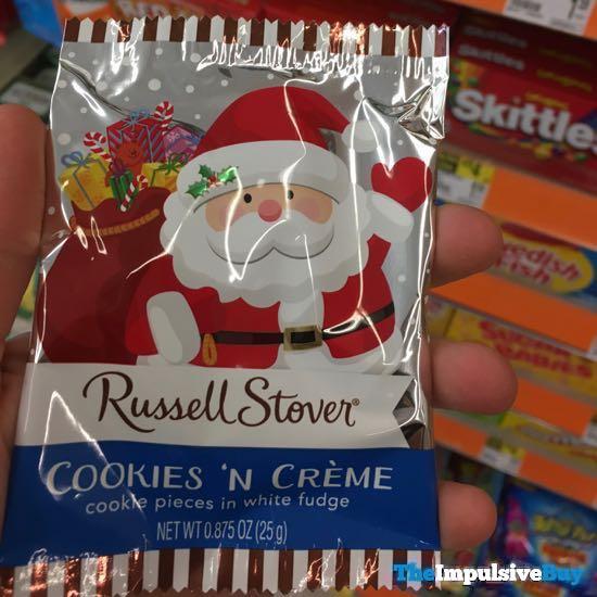Russell Stover Cookies n Creme Santa