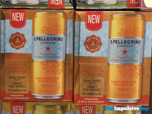 S Pellegrino Essenza Tangerine  Wild Strawberry