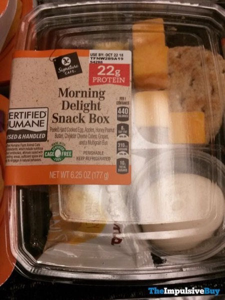 Safeway Signature Cafe Morning Delight Snack Box