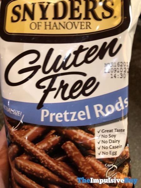 Snyder s of Hanover Gluten Free Pretzel Rods